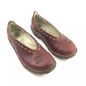 El Natura Lista Shoes - El Natura Lista Leather Slip On Frog Loafer 6US